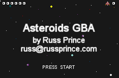 Thumbnail 1 for Asteroids GBA